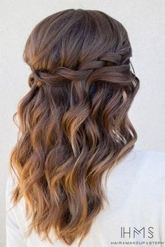 Easy Long Hairstyles for Valentine's Day picture1