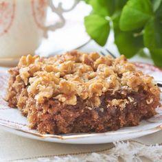 Old Fashioned Irish Oatmeal Cake- use GF flour