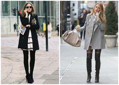 Οι διάσημες με over-the-knee boots Κάποιες μας απογοητεύουν με το στιλ τους...
