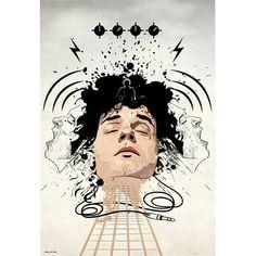 Soda Stereo, Anubis, Vikings, Pop Culture, Mona Lisa, Fan Art, My Love, Drawings, Illustration