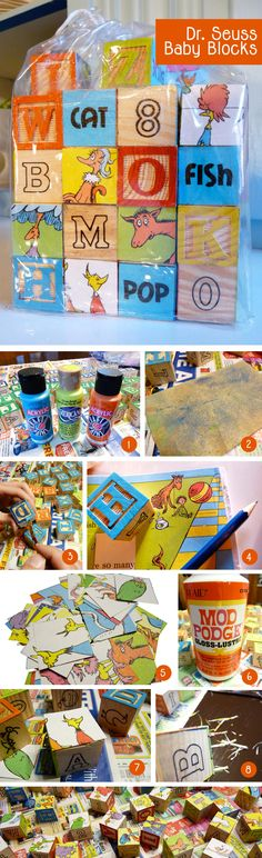 diy dr seuss baby blocks @ http://2busybrunettes.com/tag/crafts/