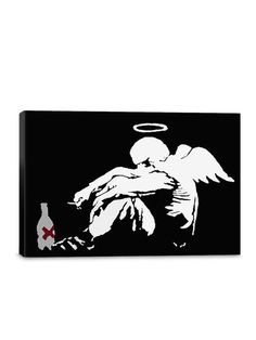 Drunken Angel (Canvas) by iCanvas at Gilt