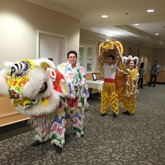 A #latergram from the #liondance earlier tonight.