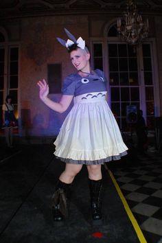 Totoro Lolita Dress. $300.00, via Etsy.