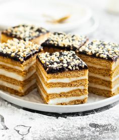 Polish Recipes, No Bake Desserts, Tiramisu, Good Food, Sweets, Baking, Ethnic Recipes, Identity, Xmas