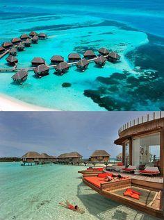 maldives, this summer I hope. Maldives Honeymoon, Visit Maldives, Honeymoon Spots, Places To Travel, Places To See, Travel Destinations, Beautiful Islands, Beautiful Places, Places Around The World
