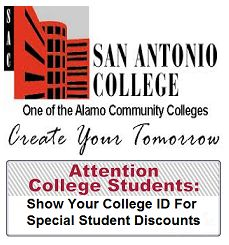 We recently added more money saving offers to the website and currently calling local businesses to invite them to partner with our program. Check it out! San Antonio College, College Student Discounts, College Campus, Community College, College Students, Invite, Saving Money, University