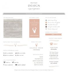 love: the raw wood, the pink-peach-coral and gold color palette. simple, fine typeface + delicate details.