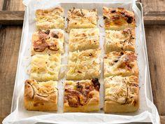 Découvrez la recette Focaccia aux oignons sur cuisineactuelle.fr.