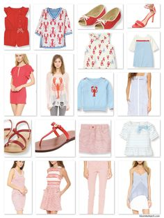 Mother & Daughter Matching Summer Soiree Lobster Bake Outfits | MomMeMatch.com