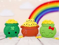 Items similar to Pot of Gold St Patricks Day Baby Shower Favours Shamrock Irish Gifts For Men Lucky Charm Ornament Coins Party Decorations Irish Wedding Gift on Etsy San Patrick Day, Sant Patrick, St Patrick's Day Decorations, Halloween Decorations, Happy St Patty's Day, Irish Celebration, Baby Shower Favours, Kawaii Gifts, St Patrick's Day Crafts