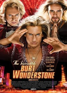 Released movie: The Incredible Burt Wonderstone