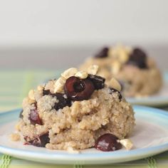 cherry ginger coconut quinoa