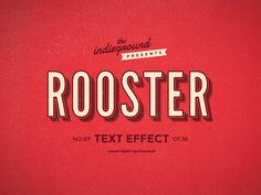 trendgraphy: Retro Vintage Text Effects by Roberto Perrino. This graphic resource gives you a quick & easy possibility to apply an high quality retro / vintage / old style to your text. You can use it on simple text, shapes and vector logo. You just need to replace them into the smart object of your favourite style included. Create a great poster or flyer, a facebook cover, a magazine title or a website banner and give them the vintage touch. Download it here: http://bit.ly/1wTtD3M