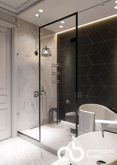 #ab_architects #design #interior #дизайн #интерьер #bathroom #ванная