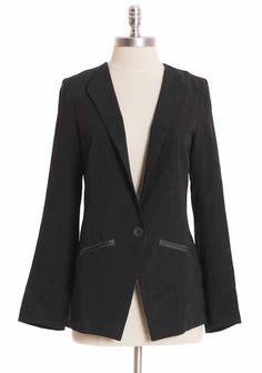 Bosworth Blazer In Black