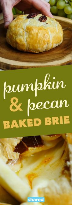 Whether you're having people over or you have a craving for brie, this recipe will have your mouth watering. There is something about the buttery cheese, paired with the spice pumpkin and the nutty pecans that bring this dish together.  If this dish happens to provoke a wine night, then so be it! Enjoy.