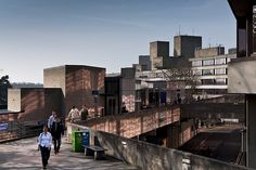 If like me Brutalist architecture is your thing then Norwich's UEA is a must see University Of East Anglia, University Life, Concrete Structure, Architectural Prints, Alma Mater, Brutalist, Visual Arts, Willis Tower