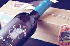 Beso de vino's Packaging. Travlel inspiration.