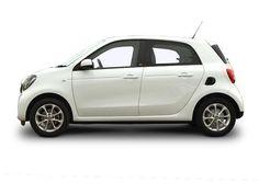 Smart Forfour Hatchback profile view