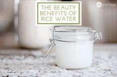 Beauty Benefits of Rice Water + How to Make & Use it! #Beauty #Musely #Tip