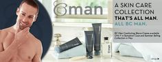 Introducing BC Man, a Skin Care Collection that's ALL MAN. These new products would make a great Father's Day gift!