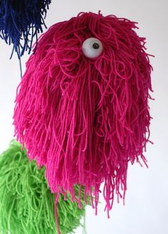 A Monster Pinata - looks like a character from Fraggle Rock!