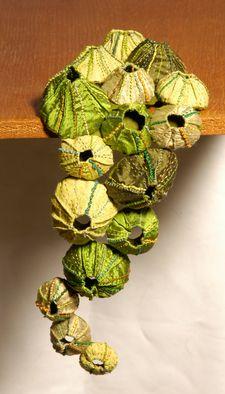Sandra Golbert 'Barnacles', 2007 - Tapestry Weaving - Artist Portfolio