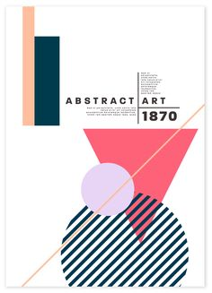 Design Trend: Abstract Geometry, a Historically Modern Style – Example of Abstract Geometry Stock Photo Geometric Graphic Design, Geometric Poster, Graphic Design Trends, Graphic Design Posters, Geometric Art, Graphic Design Inspiration, Poster Designs, Posters Conception Graphique, Plakat Design