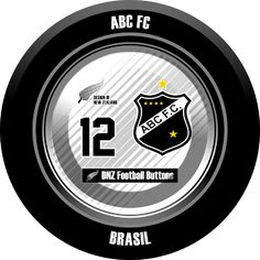 DNZ Football Buttons: ABC FC