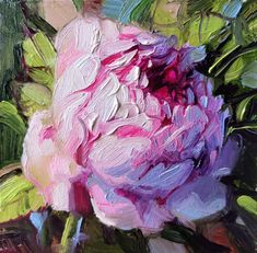 Rose painting original oil art in frame Mothers Day gift pink   Etsy