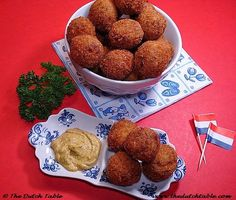 The Dutch Table: Bitterballen. Definitely trying to make them myself!