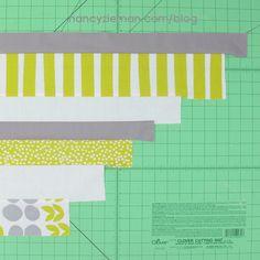 http://www.nancyzieman.com/blog/quilting-2/how-to-sew-scrap-buster-quilt-binding/