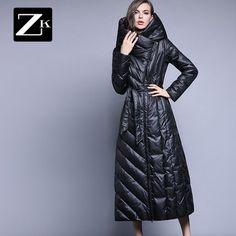 570f5c61ab84 ... пальто Мужские парки верхняя одежда с капюшоном Boss длинные большие  размеры 3 XXXL high end синий купить в магазине Shop214754 Store на  AliExpress