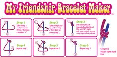 how to tie a left knot for friendship bracelets - Google Search