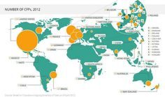 Crowdsourcing.org's report on total number of #crowdfunding platforms worldwide.