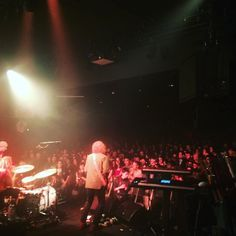 Paris was a blast! Thanks for a fun night - in Cologne Germany today at the underground.