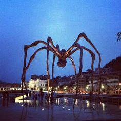 Guggenheim spider at Bilbao