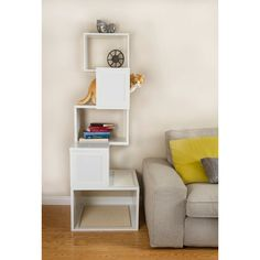 Adorable Modern Cat Tree Furniture and Modern Contemporary Cat Tree Shelves All Contemporary Design 36363 is among photos of Furniture ideas for your home. Ikea, Contemporary Cat Furniture, Contemporary Homes, Tree Furniture, Furniture Outlet, Cat Shelves, Cat Condo, Cat Room, Design Blog
