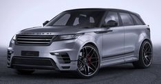 Widebody Range Rover Velar By Lumma Is All Show With No Extra Go #Land_Rover #Lumma_Design