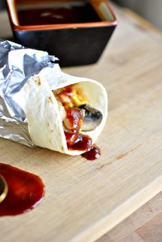 Steak and Mushroom Breakfast Burritos from @Laurie Hamilton Hamilton McNamara ~ Simply Scratch