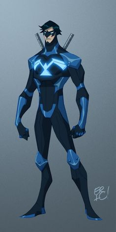 Nightwing by *EricGuzman deviantART