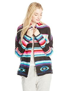 Billabong Juniors Eye Spy Waves Sweater, Multi, Small
