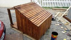 Pallet Dog House – Step by Step Plan - dog kennel cover Dog Training Methods, Basic Dog Training, Dog Training Techniques, Training Dogs, Pallet Dog House, Dog House Plans, Homemade Dog House, Dog Kennel Cover, Puppy Obedience Training