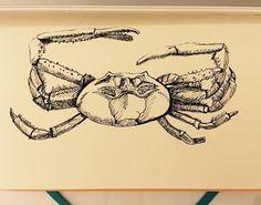 Crab Art, May 1, Animal Drawings, Cool Artwork, Amp, Instagram Posts, Cool Art, Animal Design