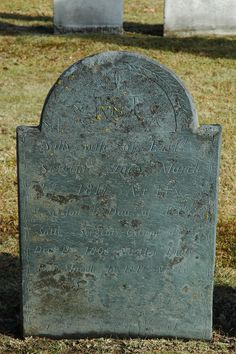 Main Street Cemetery New London, Merrimack, New Hampshire   Sally wife of Ezel' Sergent Died March 1st 1817 Age 44 A Son & Dau of Ezel' & Sally Sergent, Gilmon died Dec 11 1805 Age 11m... #genealogy