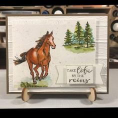 Life By the Reins - RachTheStamper - Let it Ride - Stampin Up