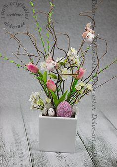 Easter Decor, Diy And Crafts, Glass Vase, Eggs, Design, Home Decor, Art, Art Background, Decoration Home
