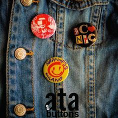 Badge buttons, which's production as a sub-brand of Ata Buttons started in 2015.   #badgebuttons #pinbuttons #buttonbadge #atabuttons #bagbadge