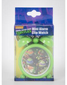 Teenage Mutant Ninja Turtles Fight Mini Clock Keychain